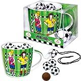 """Confiserie Heidel Porzellan-Tasse """"Sport Kids"""", 1er Pack (1 x 66 g)"""