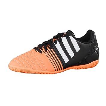 free shipping 11742 52bec adidas Fussballschuhe Nitrocharge 4.0 IN J 28 core blackftwr whiteflash  orange s15