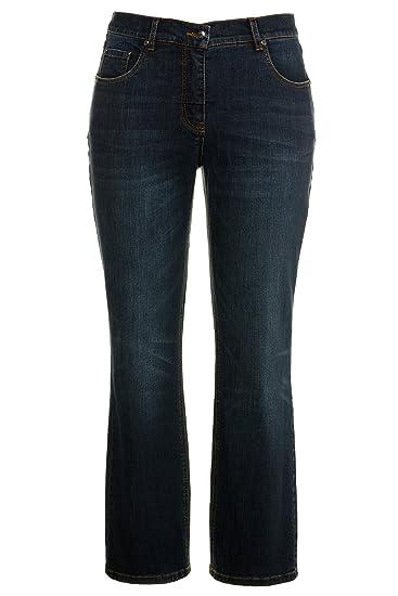 515f329ba81 Ulla Popken Women s Plus Size Elastic Waist Bootcut Jeans 714959  Ulla  Popken  Amazon.co.uk  Clothing