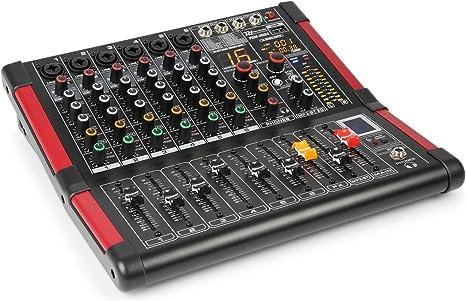 Power Dynamics PDM-M604 Mesa de mezclas 6 entradas para micrófono ...