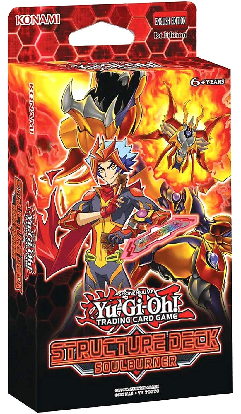 Amazon.com: Yu-Gi-Oh! Cards Soulburner Structure Deck: Toys ...