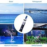 Aquarium Salinity Refractometer for