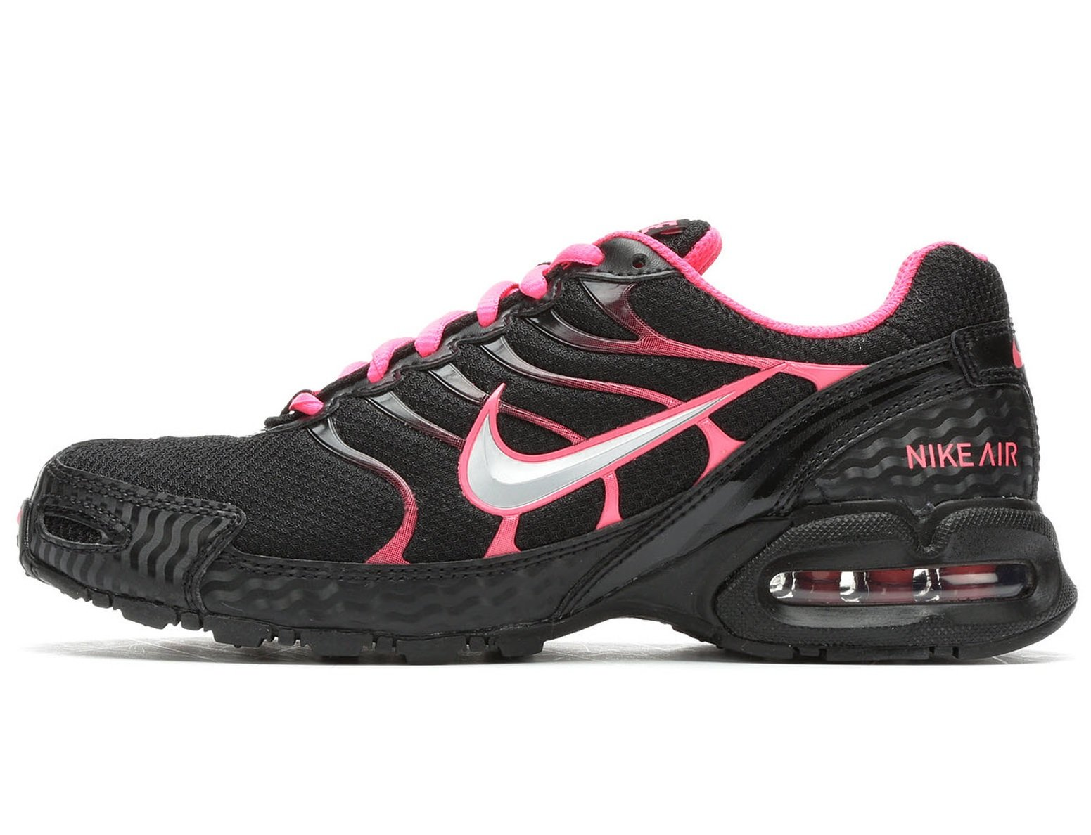 Nike Women's Air Max Torch 4 Running Shoe BlackMetallic Rose GoldAtmosphere Grey Size 9 M US