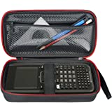 HESPLUS Hard Case with Mesh Pocket for Texas Instruments TI-Nspire CX/CAS Graphing Calculator