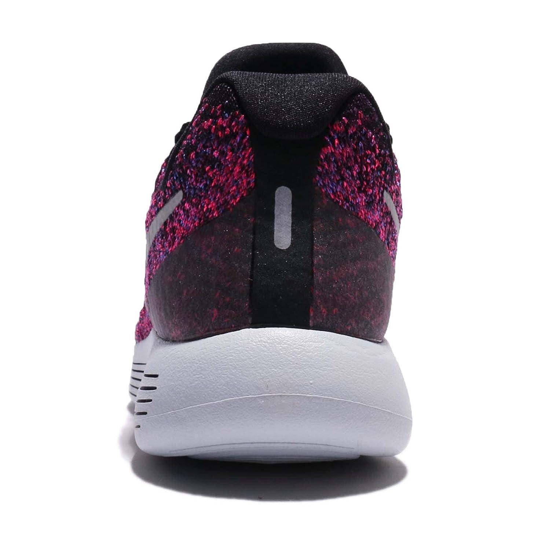 NIKE Women's Lunarepic Low Flyknit 2 Running Shoe B075V99P5B 7 B(M) US|Black Metallic Silver 015
