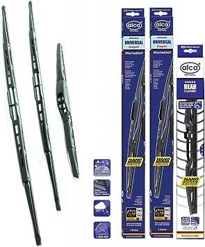 20+15 Jazz MK 2 Front Windscreen Wiper Blades for 2002-2008
