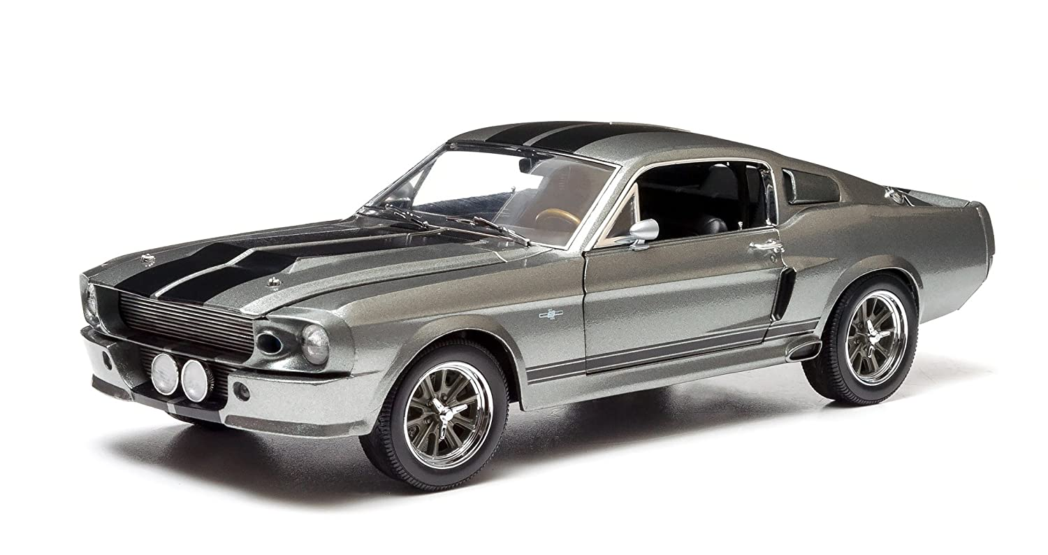 amazoncom greenlight gone in 60 seconds 2000 1967 ford mustang eleanor vehicle 118 scale toys games - 1967 Ford Mustang Eleanor