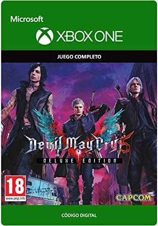 Devil May Cry 5: Digital Deluxe Edition | Xbox One - Download Code ...