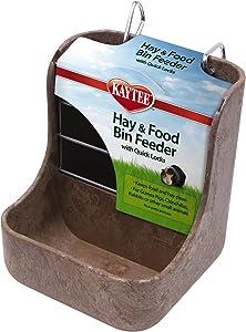 Kaytee Hay & Food Bin Feeder