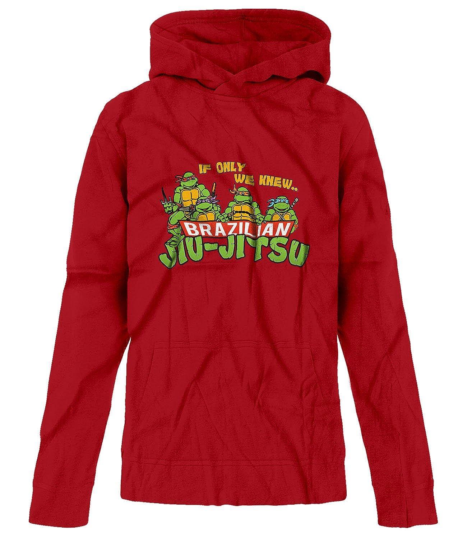 BSW Youth Girls If Only We Knew Brazilian Jiu-Jitsu TMNT MMA Hoodie