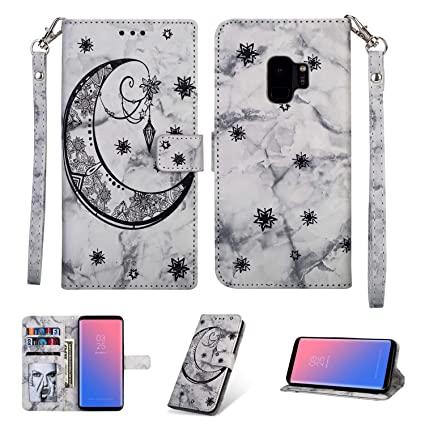new concept 56770 c8da0 Amazon.com: Shinyzone Personalised Marble Wallet Case for Samsung ...