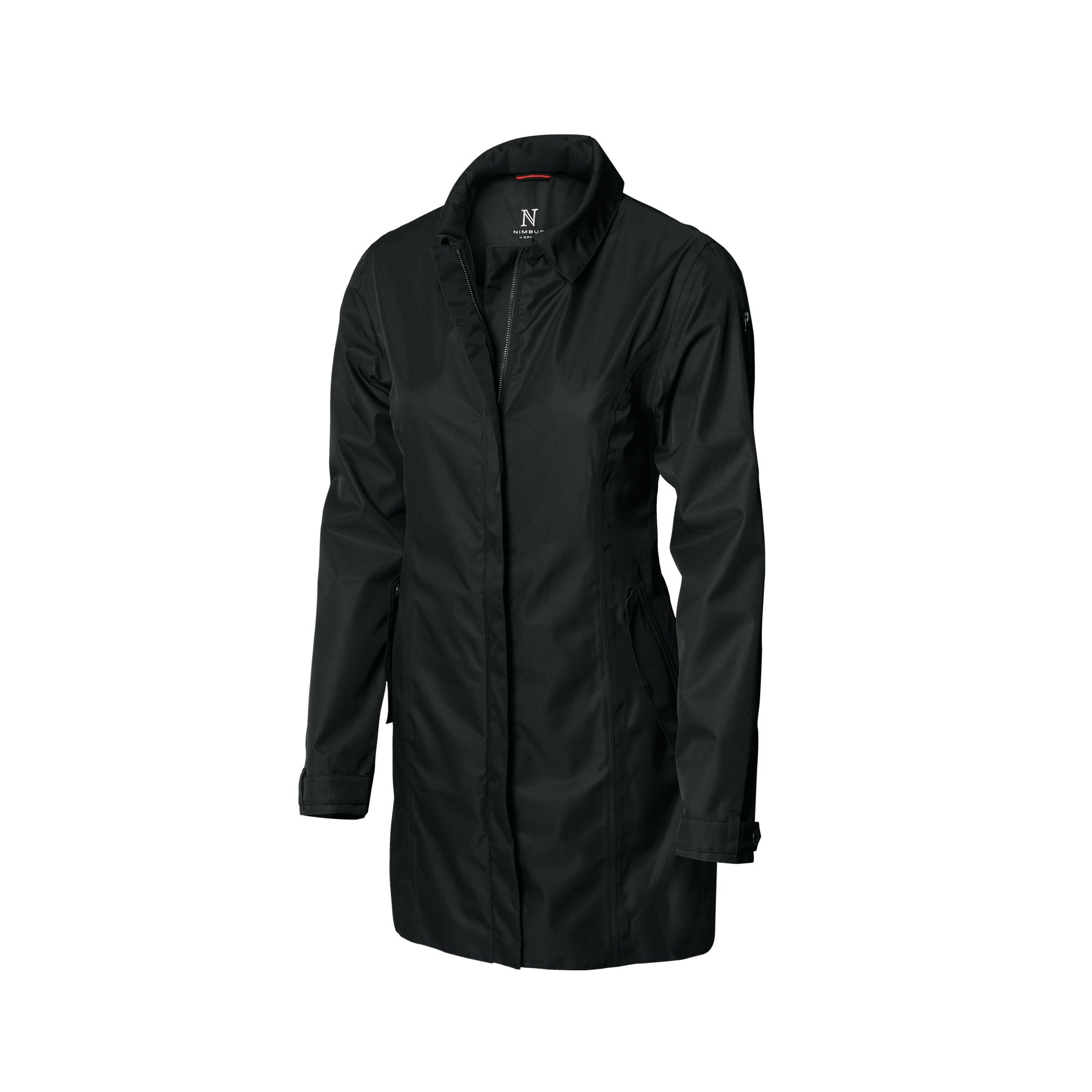 Nimbus Womens/Ladies Seattle Waterproof Business Coat (L) (Black)