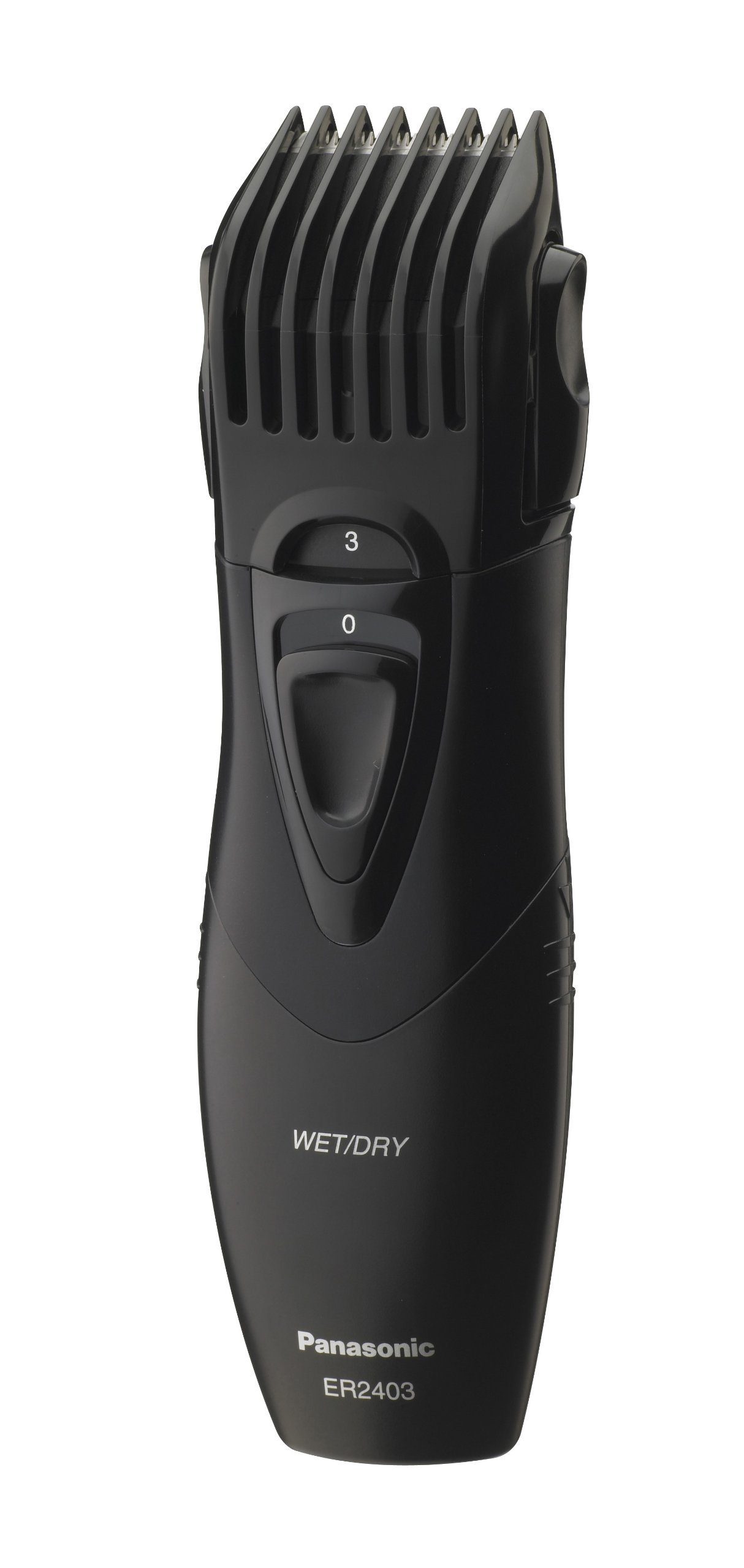 Panasonic Beard Trimmer, Men's, Cordless, Wet or Dry Operation, ER2403K