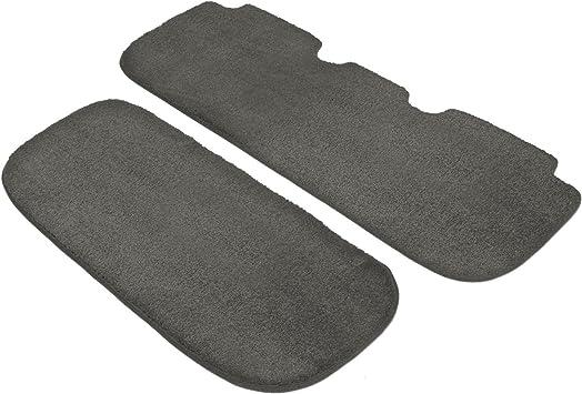 Black Nylon Carpet Coverking Custom Fit Rear Floor Mats for Select Chevrolet Models