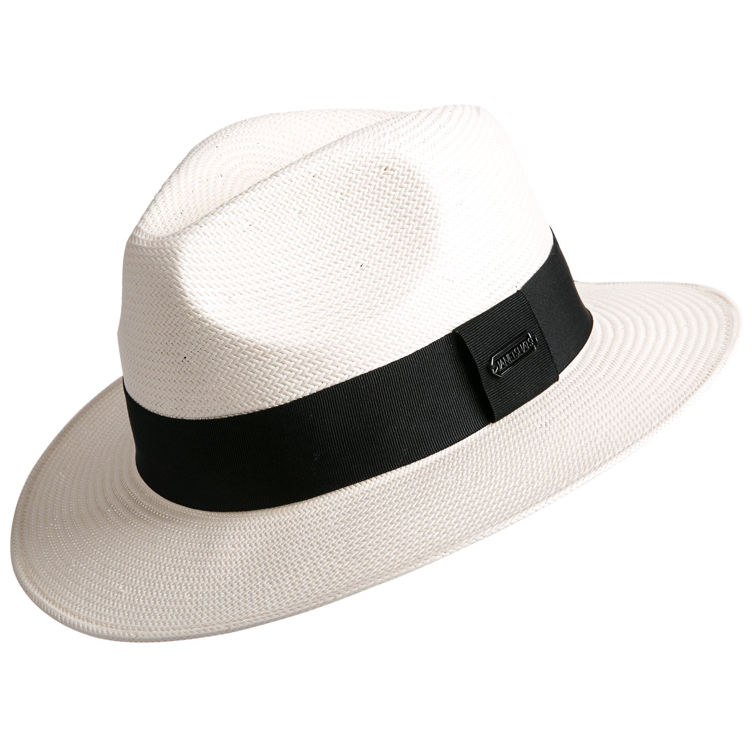 461da3ce Janetshats Gambler Panama Straw Hat Fedora Hats for Men Imported White  Japanese Paper: Amazon.ca: Clothing & Accessories