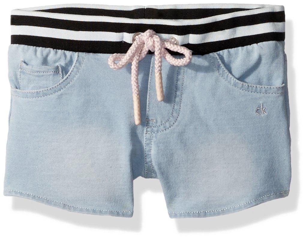 Calvin Klein Toddler Girls' Pullover Hoodie, Light