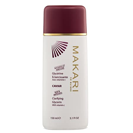 Makari Classic Caviar Skin Lightening BODY Glycerin 5.1 fl.oz Brightening Moisturizing Gel-Cream for Body Daily Anti-Aging Treatment for Dark Marks, Scars, Wrinkles, Discoloration Dry Patches
