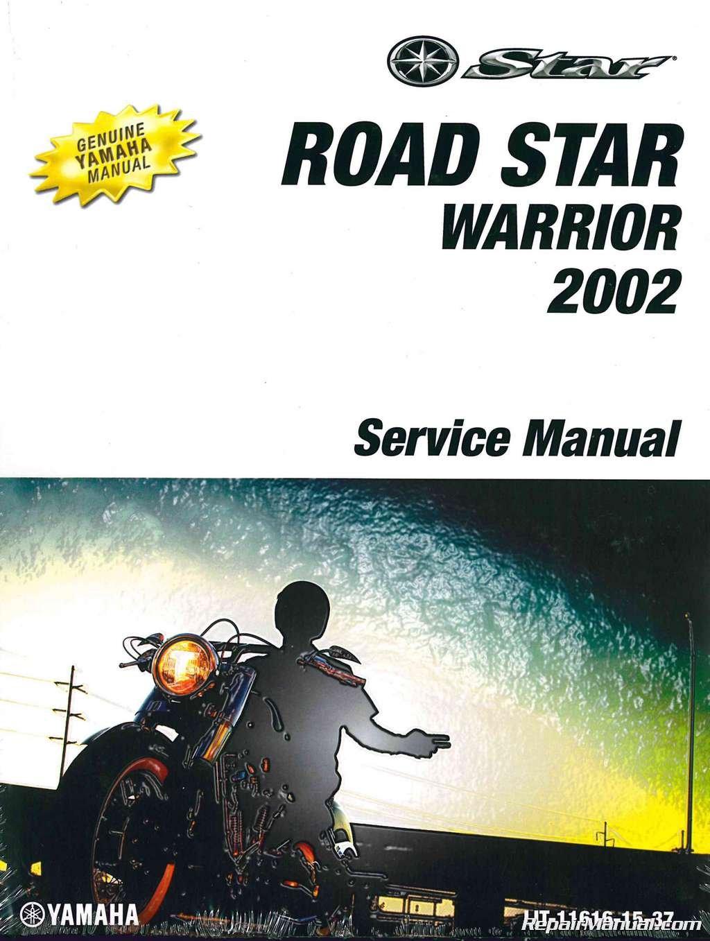 Download LIT-11616-15-37 2002 Yamaha Road Star Warrior 1700 Motorcycle Service Manual pdf