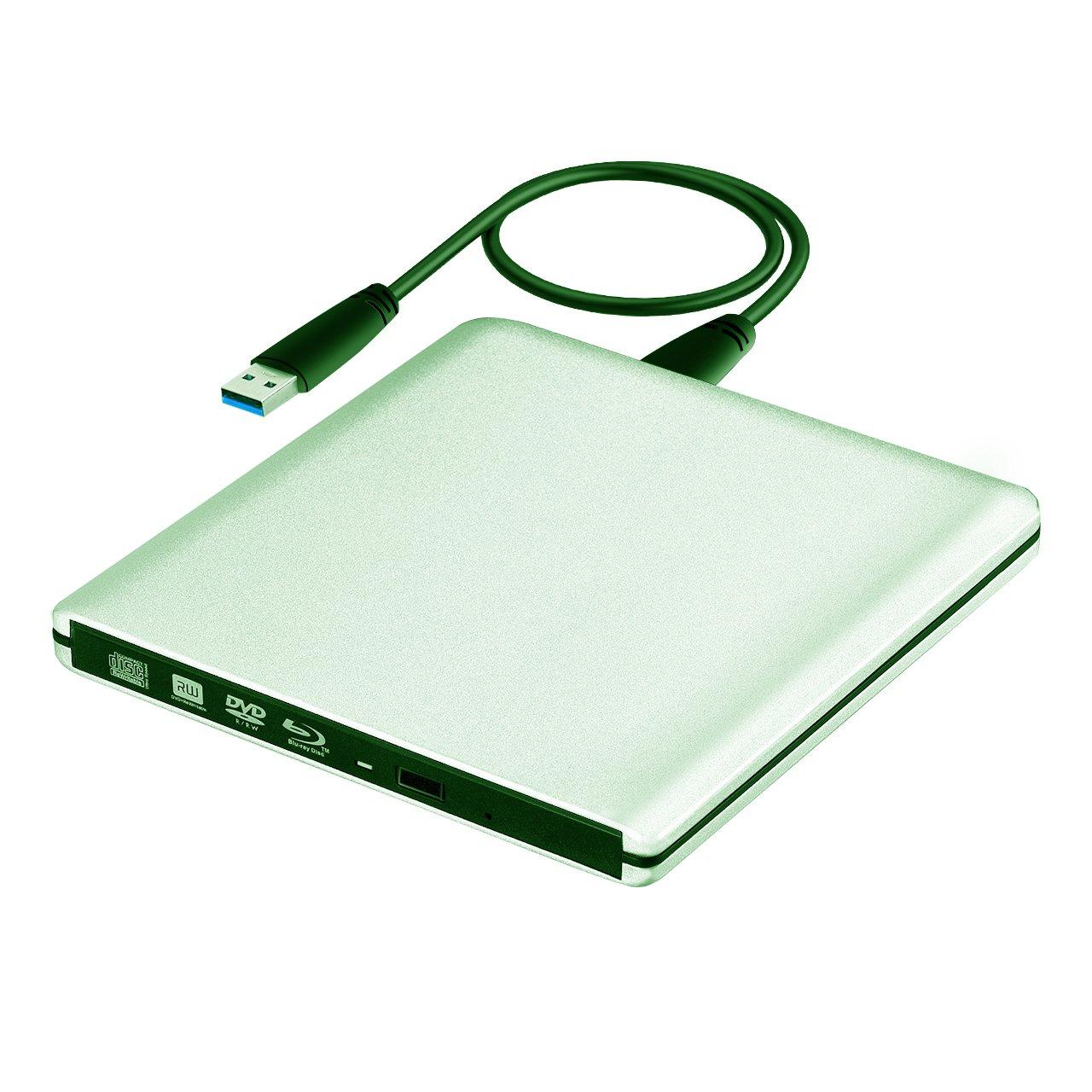 VicTsing External Blu-Ray Drive,Slim USB 3.0