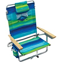 $48 » Tommy Bahama 5-Position Classic Lay Flat Folding Backpack Beach Chair