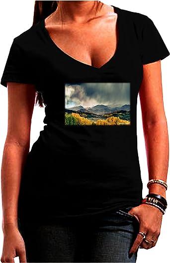 TOOLOUD Colorful Colorado Mountains Toddler T-Shirt Dark