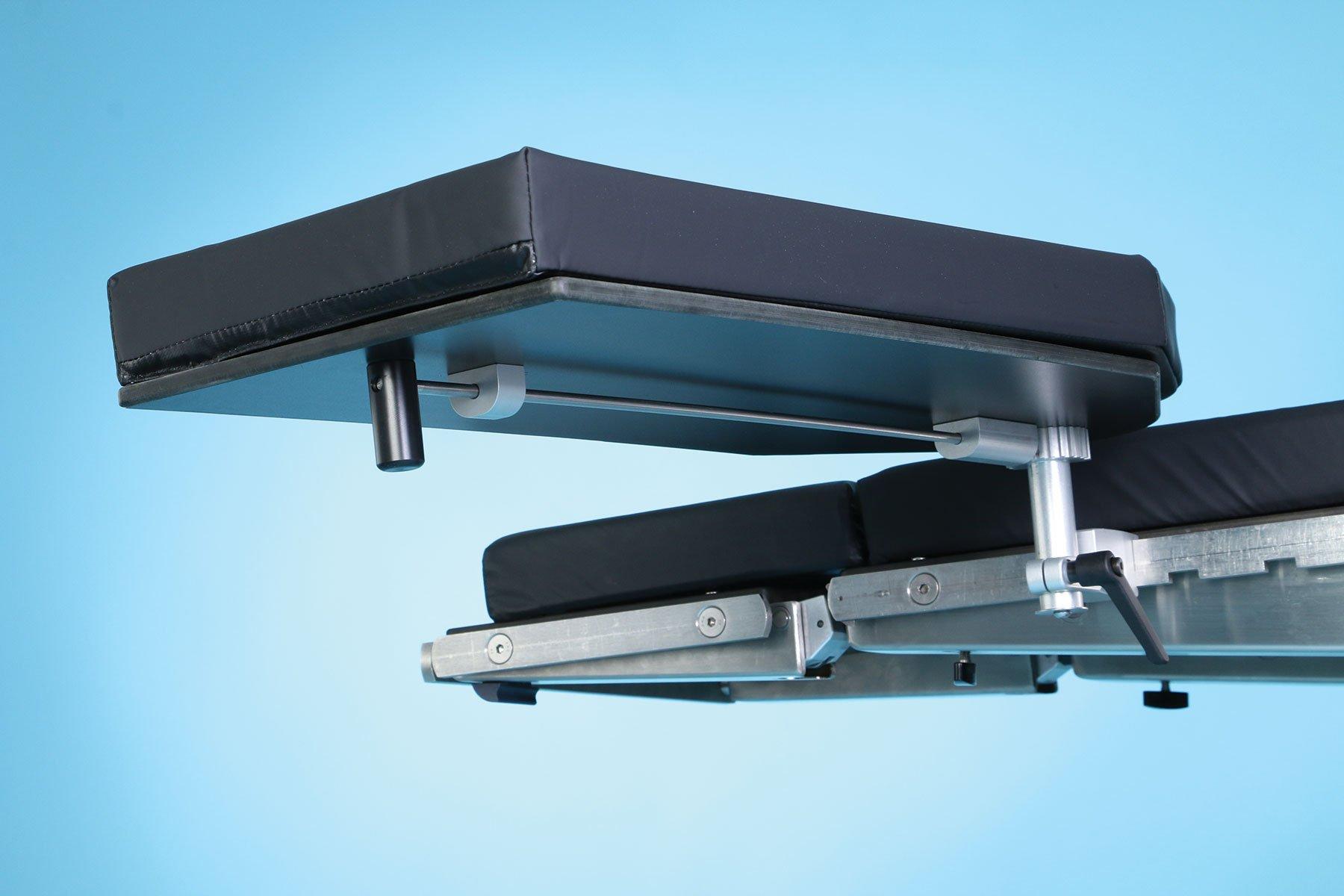 SchureMed 800-0017 Adjustable Height Extra-Wide Armboard