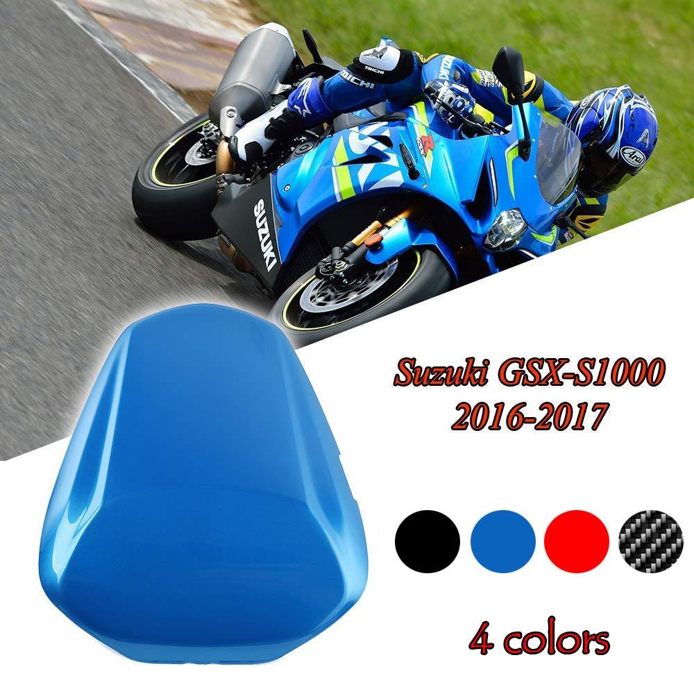FATExpress Motorcycle Aftermarket Plastic hinterer Soziussitz Solo Sitzhaube Abdeckung fü r 2016-2018 Suzuki GSX-S GSXS 1000 GSXS1000 2017 16-18 (Blau)