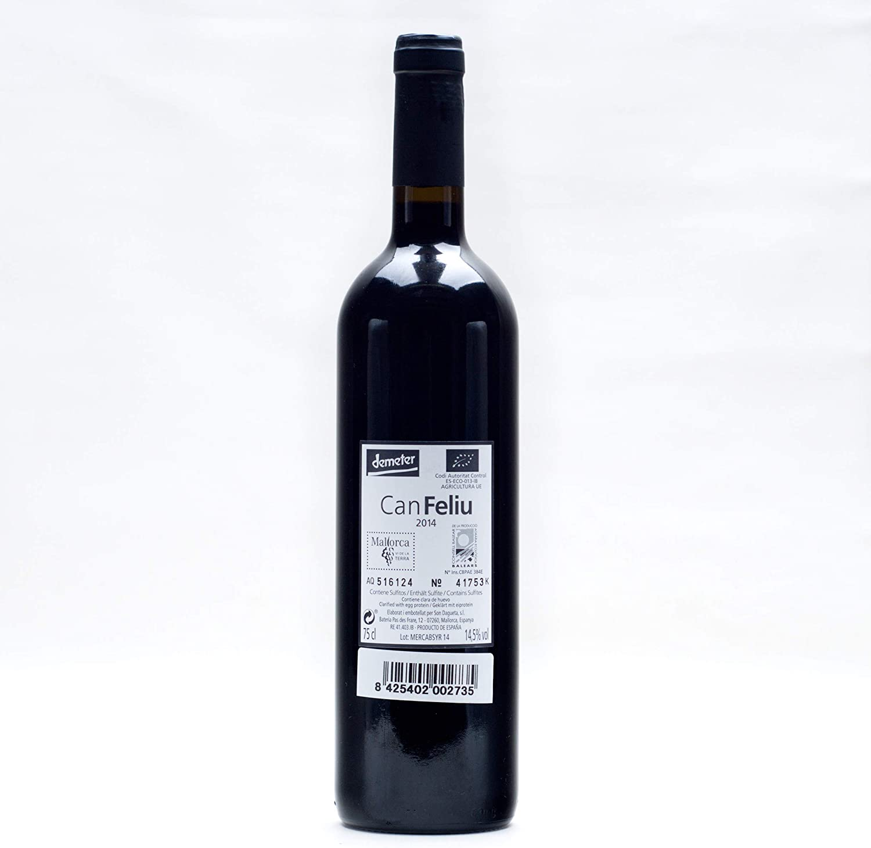 Vino tinto Alè dAlens ecológico y biodinámico - Can Feliu - Mallorca - 750 ml: Amazon.es: Alimentación y bebidas
