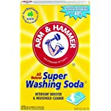 Arm & Hammer Super Washing Soda Detergent Booster & Household Cleaner (6 PACK)