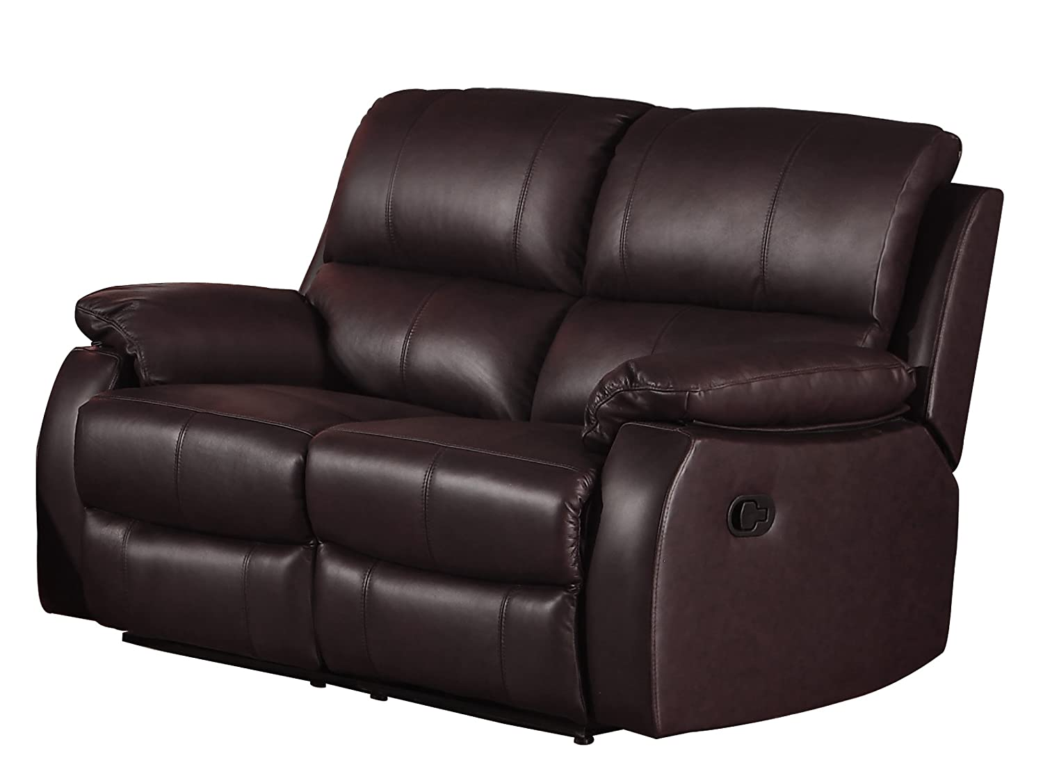 sd loveseat for oberson with recliner gunsmoke double console
