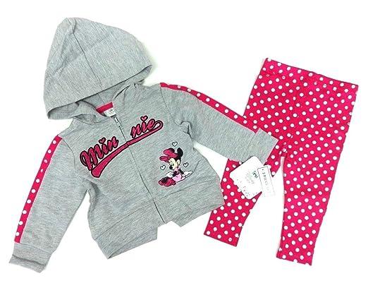Baby Kinder Jogginghose Hose Disney Minnie Mouse grau Mädchen Gr 62//68