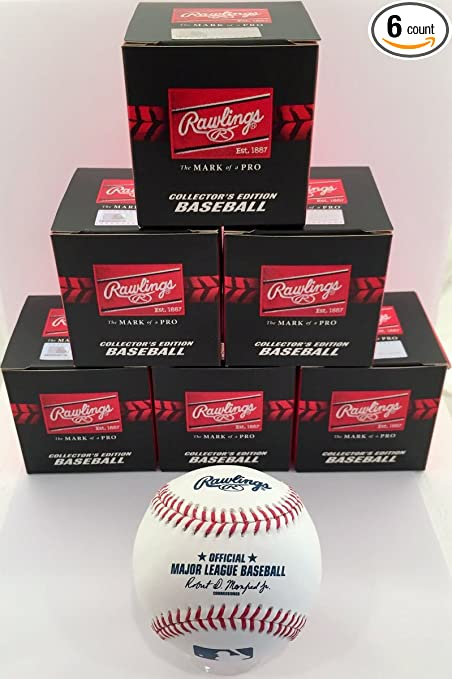 cb96e57d673 Image Unavailable. Image not available for. Color  Rawlings Official Major  League Game Baseball ...
