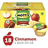Mott's Cinnamon Applesauce, 4 Ounce Cup, 18 Count