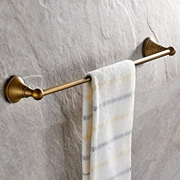 Leyden Antique Bathroom Accessories Brass Towel Bar Home Decor Towel Holder  Towel Bars Wall Maounted