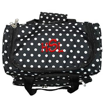 ec8a34081 Amazon.com | Personalized Mini Polka Dot Girls Duffle Bag | Travel Duffels