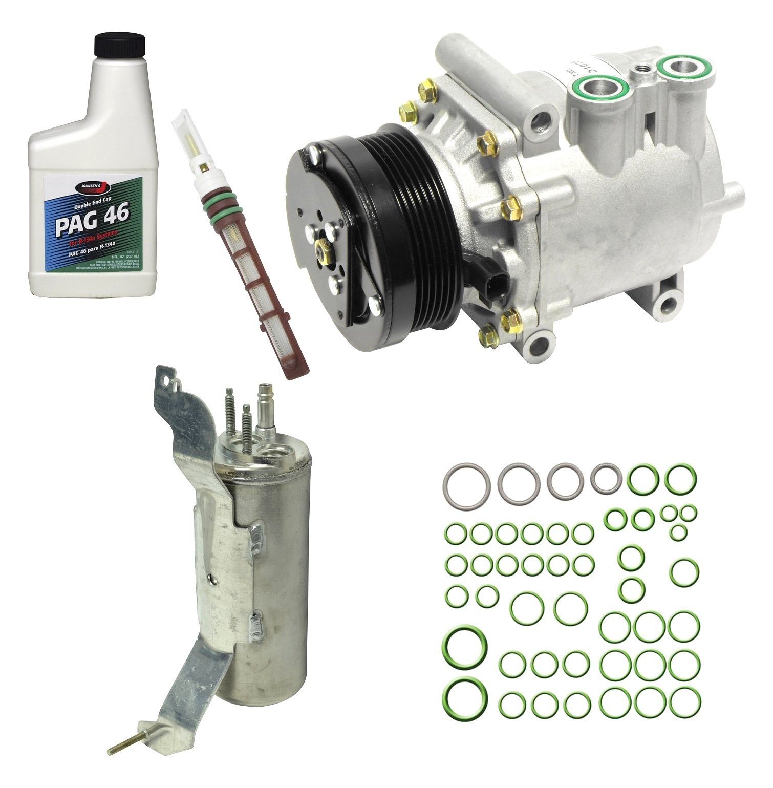 Universal Air Conditioner KT 4372 A//C Compressor and Component Kit