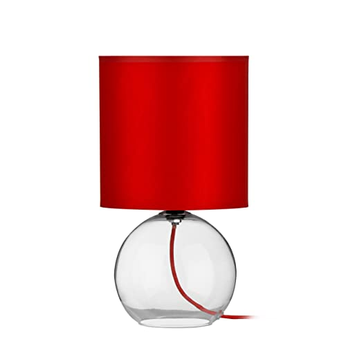 Red Table Lamps for Living Room: Amazon.co.uk