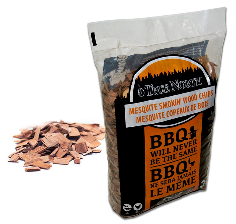 Canadian Pure and Simple ♨ Copeaux de Bois de Fumage Barbecue 900g - Bois Mesquite - pour fumoir et Barbecue