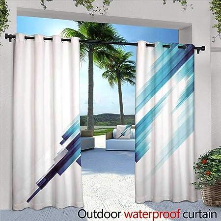 berrly Cortina de privacidad para balcón al Aire Libre, producción de Acero en la Planta metalúrgica para Bloquear la luz del Patio, cortafuego, a Prueba de Agua: Amazon.es: Hogar