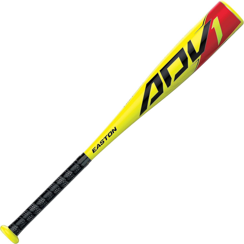 EASTON ADV1 -13 USA Youth / Kids Tee Ball Baseball Bat   2 5/8 Barrel   2020   1 Piece Composite   Hyperlite Composite Engineered - Fastest Swing Weight Tee Ball Bat   Comfort Grip   Tball Bat