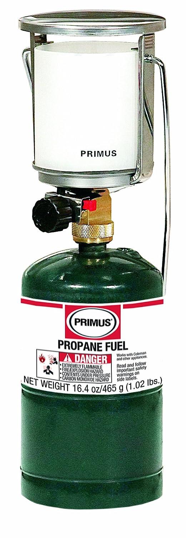 Primus Tor Sr. Propan Laterne mit Piezo und stabilem Basisadapter