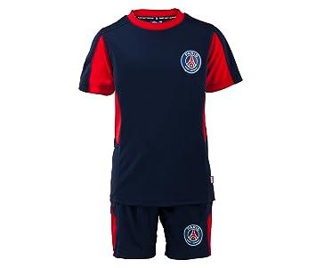 Maillot + short PSG - Collection officielle PARIS SAINT GERMAIN - Taille enfant  garçon 4 ans d44e982dce7