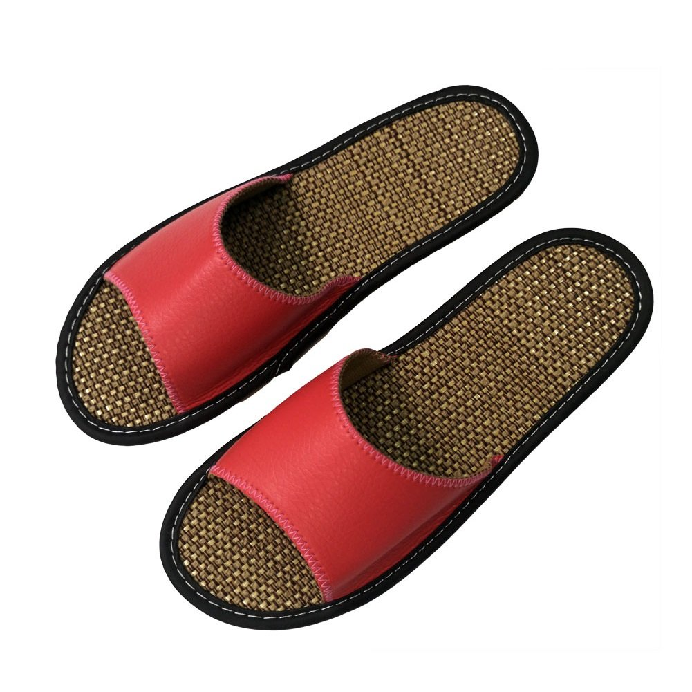 Summer Cotton Flax Women Slippers Breathable Home Beach Indoor Outdoor UK