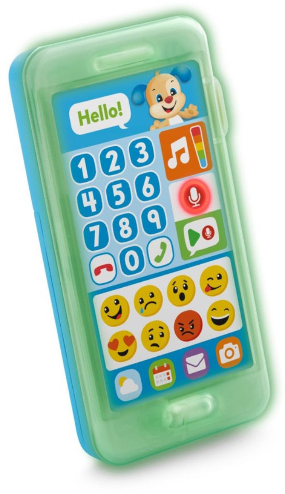 Fisher-Price Laugh & Learn Leave A Message Smart Phone, Puppy by Fisher-Price (Image #9)