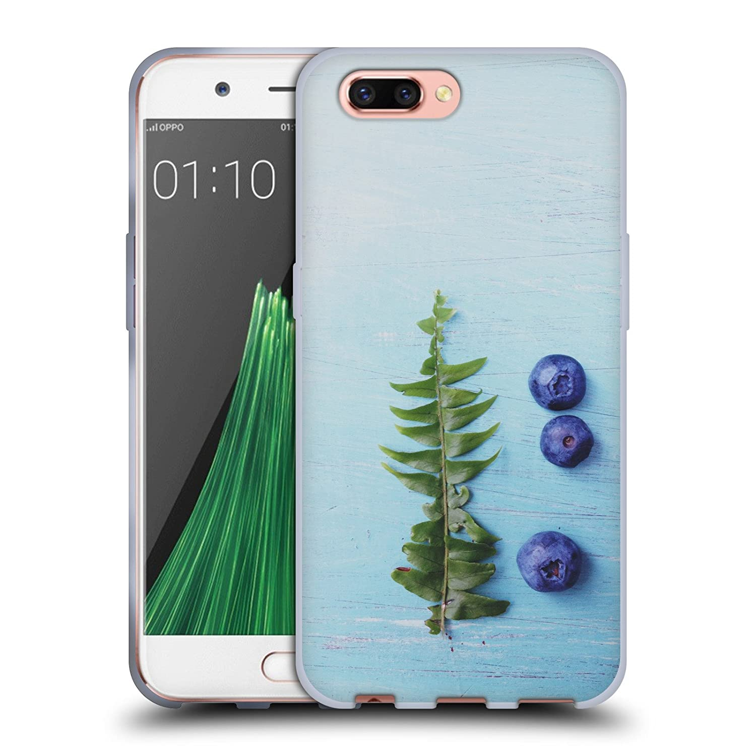 Amazon ficial Olivia Joy StClaire Fern and Blueberries The Table Soft Gel Case for Oppo R11 Plus Cell Phones & Accessories