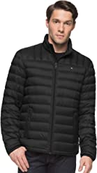 Tommy Hilfiger Mens Packable Down Jacket (Regular and Big & Tall ...