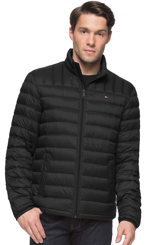 3dda9b9af Tommy Hilfiger Mens Outerwear Packable Down Jacket