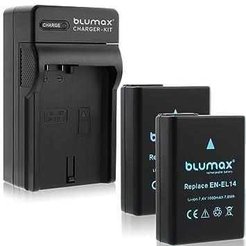 D5300 Akku,Batterie,1050mAh,ersetzt:EN-EL14,EN-EL14a D5600 D5500 Nikon D5200
