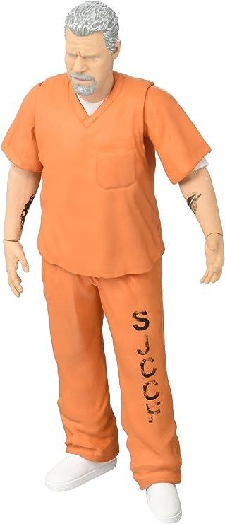 Mezco Toys – Sons of Anarchy Clay Morrow Orange Prison Figura, 696198823042: Amazon.es: Juguetes y juegos