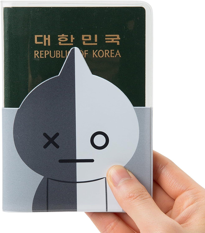 BT21/Cooky transparent Passport Fall